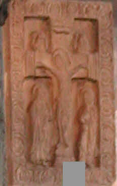 Anglo Saxon carving
